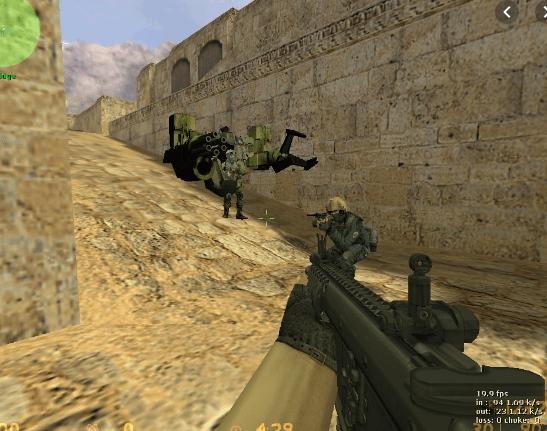 Counter Strike 1.6 War Space