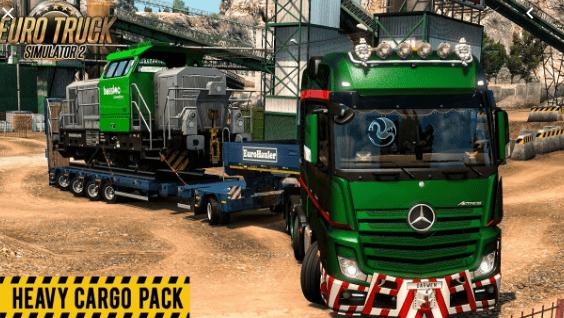 Euro Truck Simulator 2 Heavy Cargo