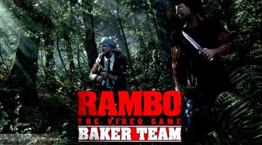 Rambo The Video Game Baker Team