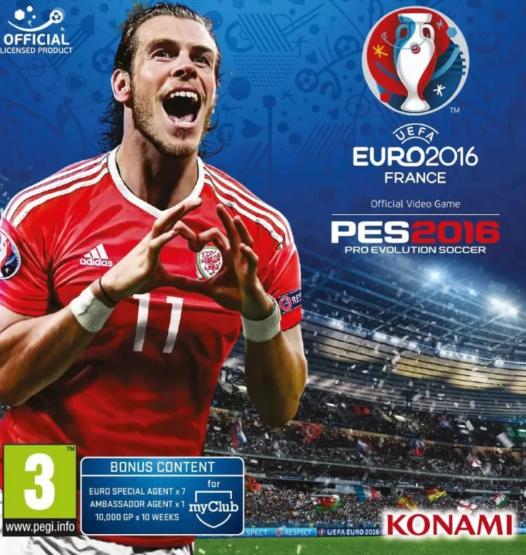 Pro Evolution Soccer UEFA Euro 2016