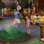 The Sims 4 With All Dlcs and Updates Incl Island Paradise