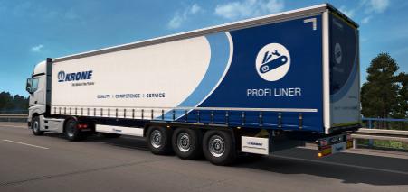 Euro Truck Simulator 2 Krone Trailer Pack