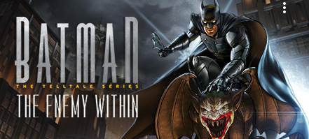 Batman the Enemy Within the Telltale Series